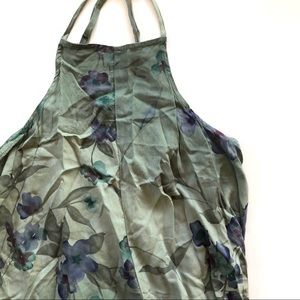 Womens O'Neill floral dress - blue - size xs